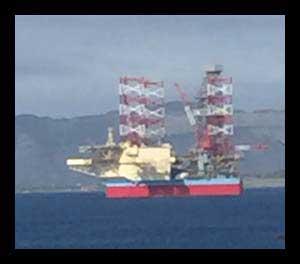 Image of jackup drilling rig-Maersk Invinsible