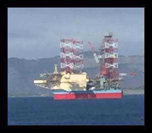 Image of jackup drilling rig-Maersk Invinsible