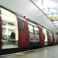 Image of London underground train